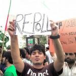 PTI sit-in in Karachi