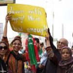 PTI protest Karachi