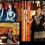 Sharmila Farooqi engagement with Hasham Riaz
