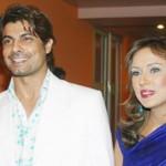 Sofia Ahmed with husband Sohail Sameer