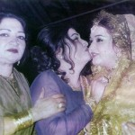 Zille Huma with Noor Jehan at her wedding